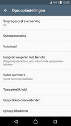 Sony Xperia XZ (F8331) - Voicemail - Handmatig instellen - Stap 5