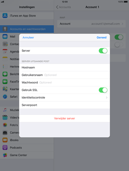 Apple ipad-mini-retina-met-ios-11-model-a1490 - E-mail - Instellingen KPNMail controleren - Stap 17