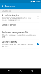 HTC Desire 816 - SMS - configuration manuelle - Étape 10