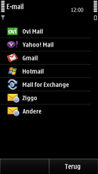 Nokia E7-00 - E-mail - Handmatig instellen - Stap 7