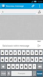 Bouygues Telecom Bs 471 - Contact, Appels, SMS/MMS - Envoyer un SMS - Étape 5