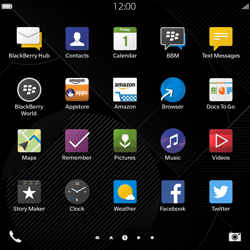 BlackBerry Passport - Internet - Internet browsing - Step 2