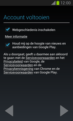 Samsung Galaxy Core (I8260) - Applicaties - Account aanmaken - Stap 18