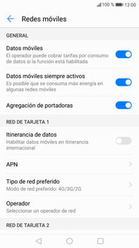 Huawei Mate 9 - Red - Seleccionar el tipo de red - Paso 5