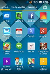Alcatel OT-4015X Pop C1 - Photos, vidéos, musique - Envoyer une photo via Bluetooth - Étape 3