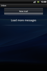 Sony Ericsson Xperia Mini Pro - Email - Sending an email message - Step 4