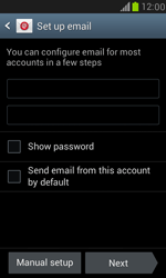 Samsung I8190 Galaxy S III Mini - E-mail - Manual configuration POP3 with SMTP verification - Step 7