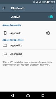 Sony Xperia L1 - WiFi et Bluetooth - Jumeler votre téléphone avec un accessoire bluetooth - Étape 8