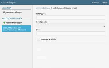 Samsung Galaxy Tab S 10.5 4G (SM-T805) - E-mail - Instellingen KPNMail controleren - Stap 16