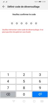Huawei P30 - Sécurité - activéz le code PIN de l'appareil - Étape 7