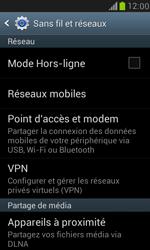 Samsung I8190 Galaxy S III Mini - Réseau - Changer mode réseau - Étape 5