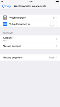 Apple iPhone 6 Plus - iOS 12 - E-mail - Account instellen (POP3 met SMTP-verificatie) - Stap 15