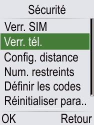 Doro Phone Easy 621 - Sécuriser votre mobile - Activer le code de verrouillage - Étape 5