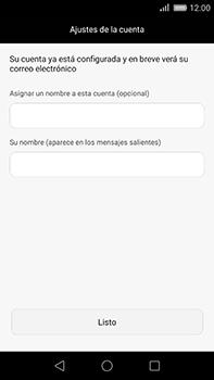Huawei GX8 - E-mail - Configurar correo electrónico - Paso 19