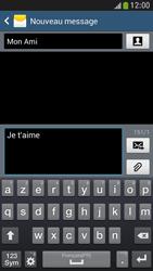 Samsung Galaxy S4 Mini - Contact, Appels, SMS/MMS - Envoyer un SMS - Étape 10
