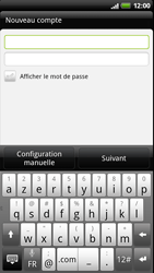 HTC Z710e Sensation - E-mail - Configurer l