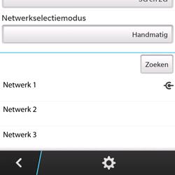 BlackBerry Q5 - Bellen - in het buitenland - Stap 11