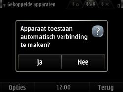 Nokia E6-00 - Bluetooth - Headset, carkit verbinding - Stap 12