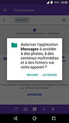 Crosscall Action X3 - Contact, Appels, SMS/MMS - Envoyer un MMS - Étape 13