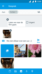 Nokia 3 - MMS - afbeeldingen verzenden - Stap 18