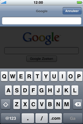 Apple iPhone 4 - Internet - hoe te internetten - Stap 9