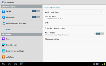 Samsung P5100 Galaxy Tab 2 10-1 - MMS - configuration manuelle - Étape 6