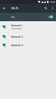 OnePlus 2 - WiFi and Bluetooth - Manual configuration - Step 8
