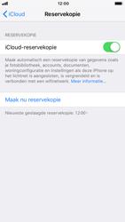 Apple iPhone 6 - iOS 12 - toestel resetten - back-up maken met jouw account - stap 14