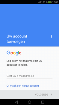 Huawei Mate S - E-mail - e-mail instellen (gmail) - Stap 9