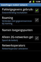 Samsung S5690 Galaxy Xcover - MMS - handmatig instellen - Stap 6