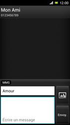 Sony ST26i Xperia J - MMS - envoi d'images - Étape 11