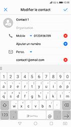 Honor 6A - Contact, Appels, SMS/MMS - Ajouter un contact - Étape 9