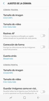 Samsung Galaxy S8 - Funciones básicas - Uso de la camára - Paso 11