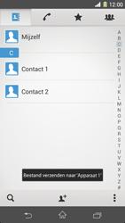 Sony C6903 Xperia Z1 - Contactgegevens overzetten - delen via Bluetooth - Stap 13