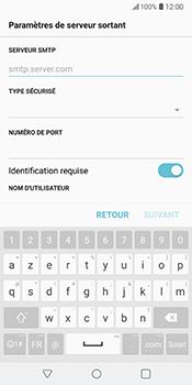 LG V30 - E-mail - Configuration manuelle - Étape 15