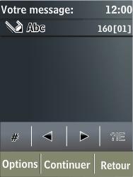 Nokia X3-02 - MMS - envoi d'images - Étape 4