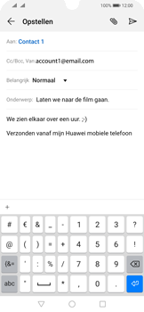 Huawei p-smart-2019-dual-sim-model-pot-lx1 - E-mail - Bericht met attachment versturen - Stap 9