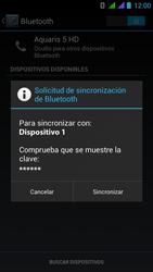 BQ Aquaris 5 HD - Bluetooth - Conectar dispositivos a través de Bluetooth - Paso 7