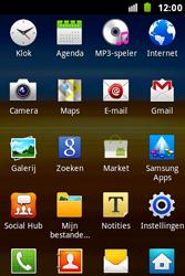Samsung S7500 Galaxy Ace Plus - Wifi - handmatig instellen - Stap 2