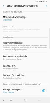 Samsung Galaxy S9 Plus - Sécuriser votre mobile - Activer le code de verrouillage - Étape 5