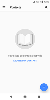 Sony Xperia XZ2 - Contact, Appels, SMS/MMS - Ajouter un contact - Étape 4