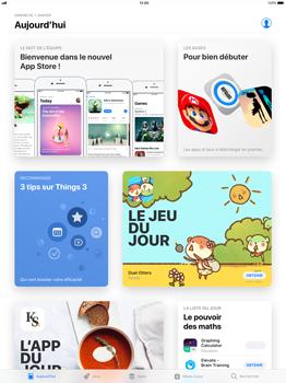 Apple iPad Mini 4 - iOS 11 - Applications - Télécharger des applications - Étape 3