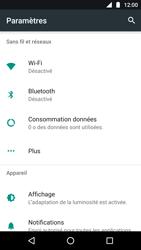Motorola Moto G5 - Internet - Désactiver les données mobiles - Étape 4