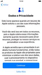 Apple iPhone 7 - iOS 13 - Primeiros passos - Como ativar seu aparelho - Etapa 10
