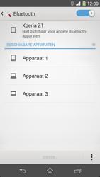 Sony Xperia Z1 4G (C6903) - Bluetooth - Aanzetten - Stap 5