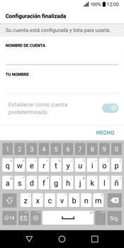 LG Q6 - E-mail - Configurar correo electrónico - Paso 20