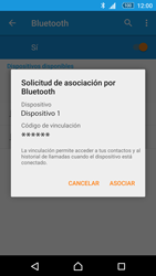 Sony Xperia M5 (E5603) - Bluetooth - Conectar dispositivos a través de Bluetooth - Paso 7