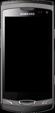 Samsung Wave 2 - Premiers pas - Découvrir les touches principales - Étape 3