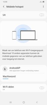 Samsung galaxy-a70-dual-sim-sm-a705fn - WiFi - Mobiele hotspot instellen - Stap 12
