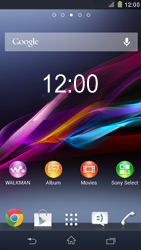 Sony C6903 Xperia Z1 - Applications - Downloading applications - Step 1